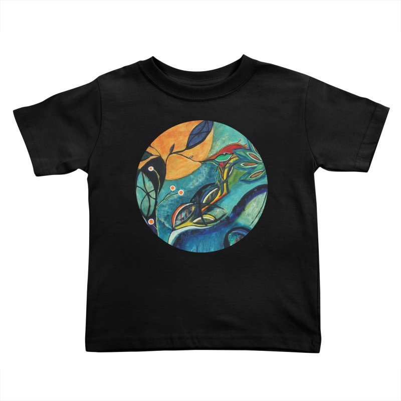 Glimmer Kids Toddler T-Shirt by C. Cooley's Artist Shop