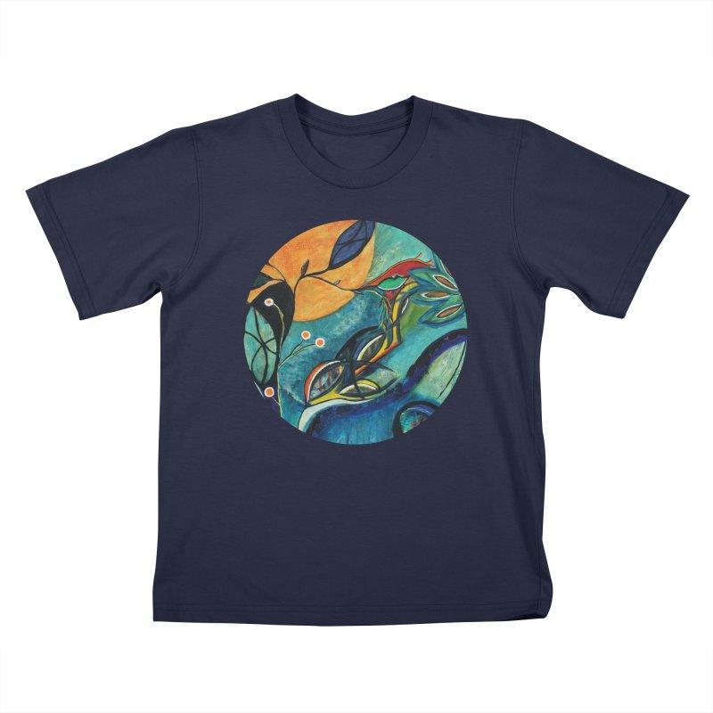 Glimmer Kids T-Shirt by C. Cooley's Artist Shop