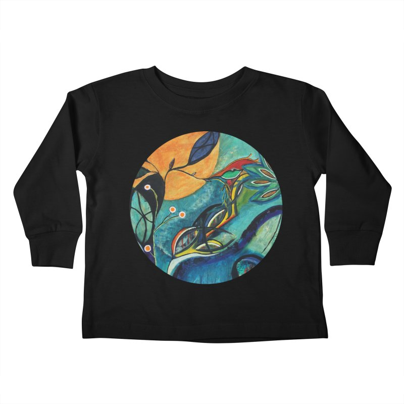 Glimmer Kids Toddler Longsleeve T-Shirt by C. Cooley's Artist Shop
