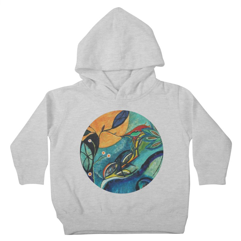 Glimmer Kids Toddler Pullover Hoody by C. Cooley's Artist Shop
