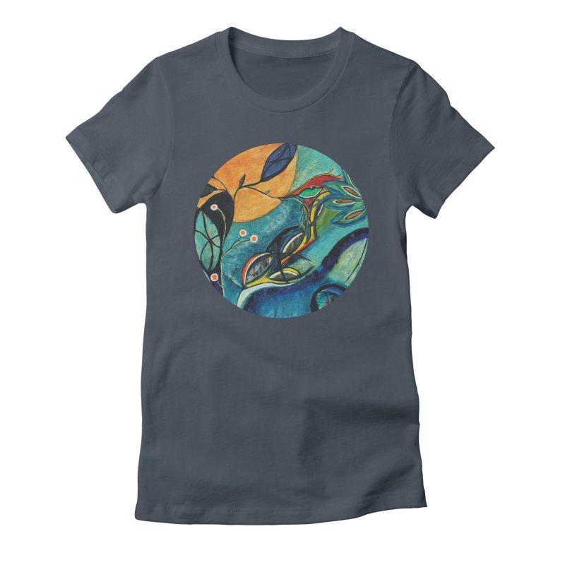 Glimmer Women's T-Shirt by C. Cooley's Artist Shop