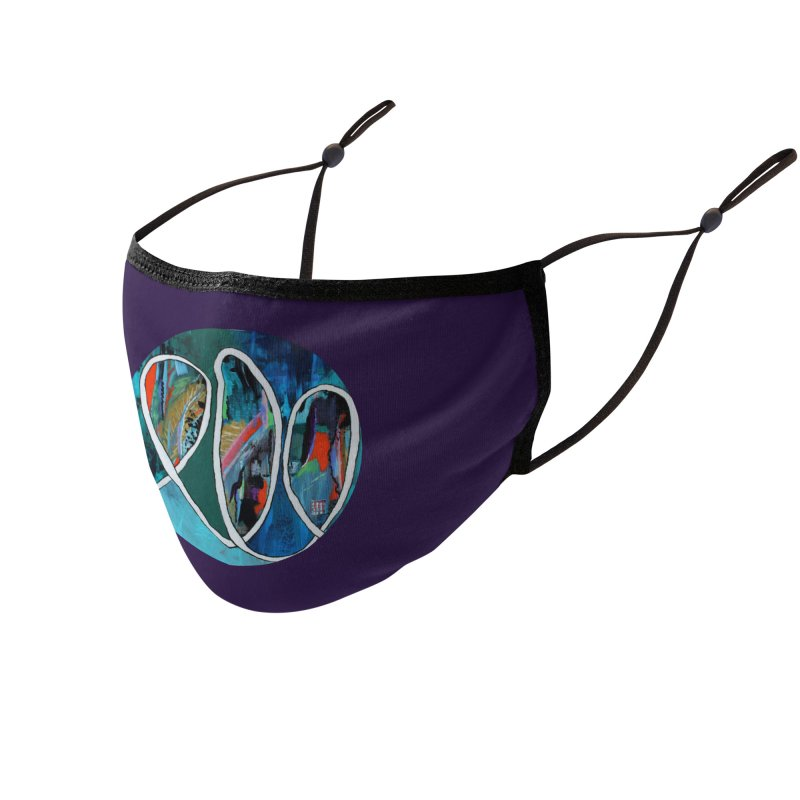Looped Accessories Face Mask by C. Cooley's Artist Shop