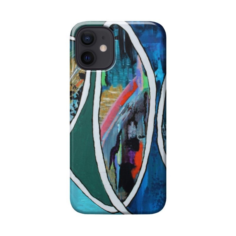 Looped Accessories Phone Case by C. Cooley's Artist Shop
