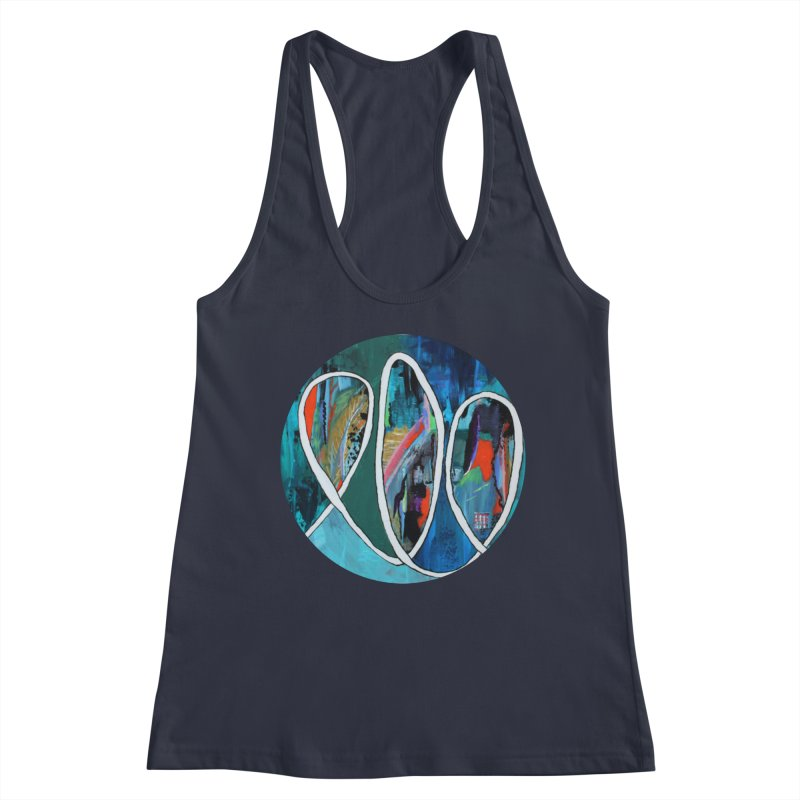 Looped Women's Tank by C. Cooley's Artist Shop