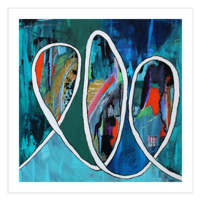 Looped Home Fine Art Print by C. Cooley's Artist Shop