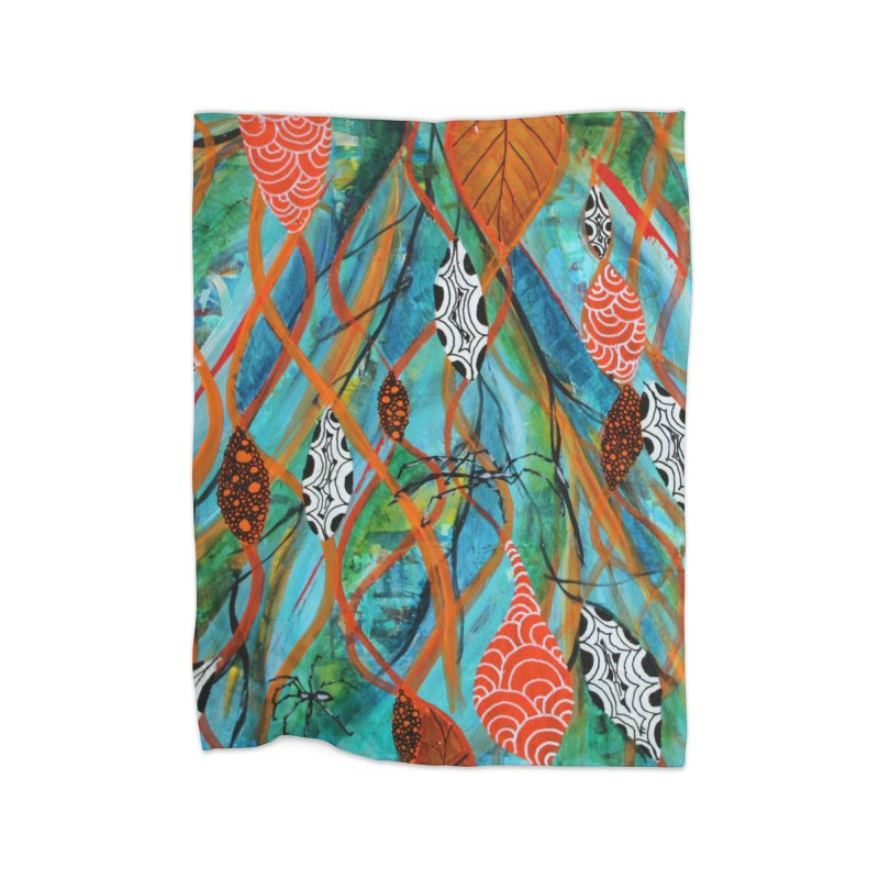Spinner Home Blanket by C. Cooley's Artist Shop