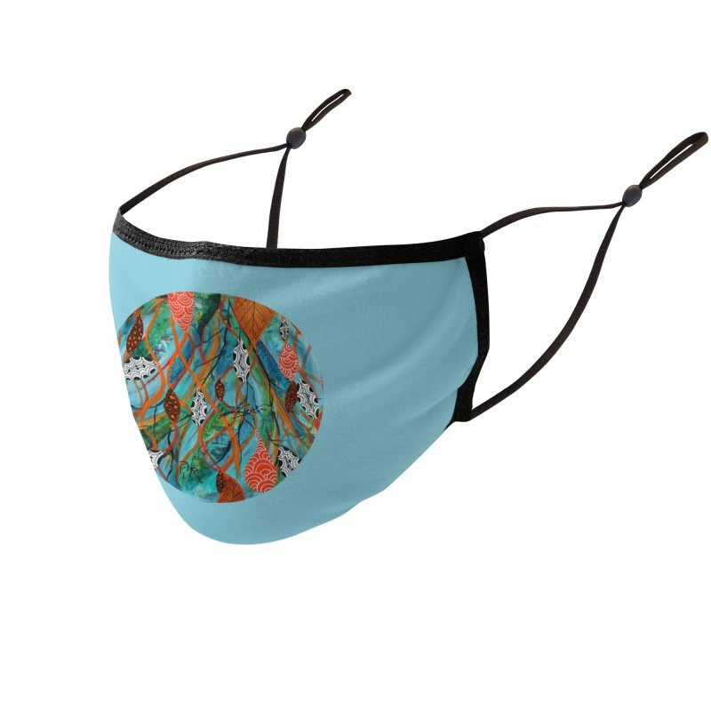 Spinner Accessories Face Mask by C. Cooley's Artist Shop