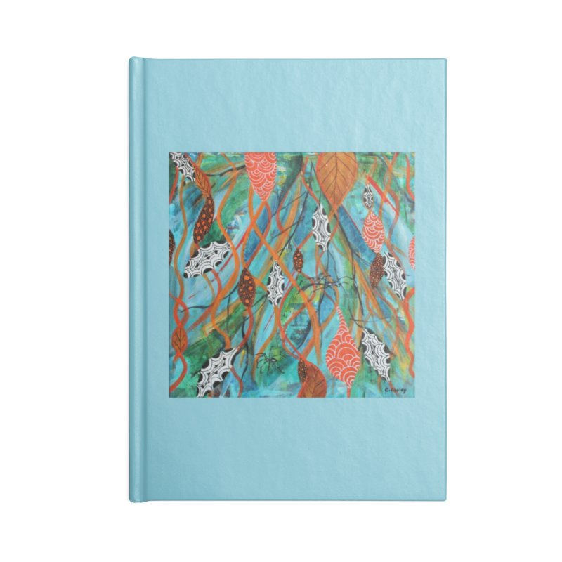 Spinner Accessories Notebook by C. Cooley's Artist Shop