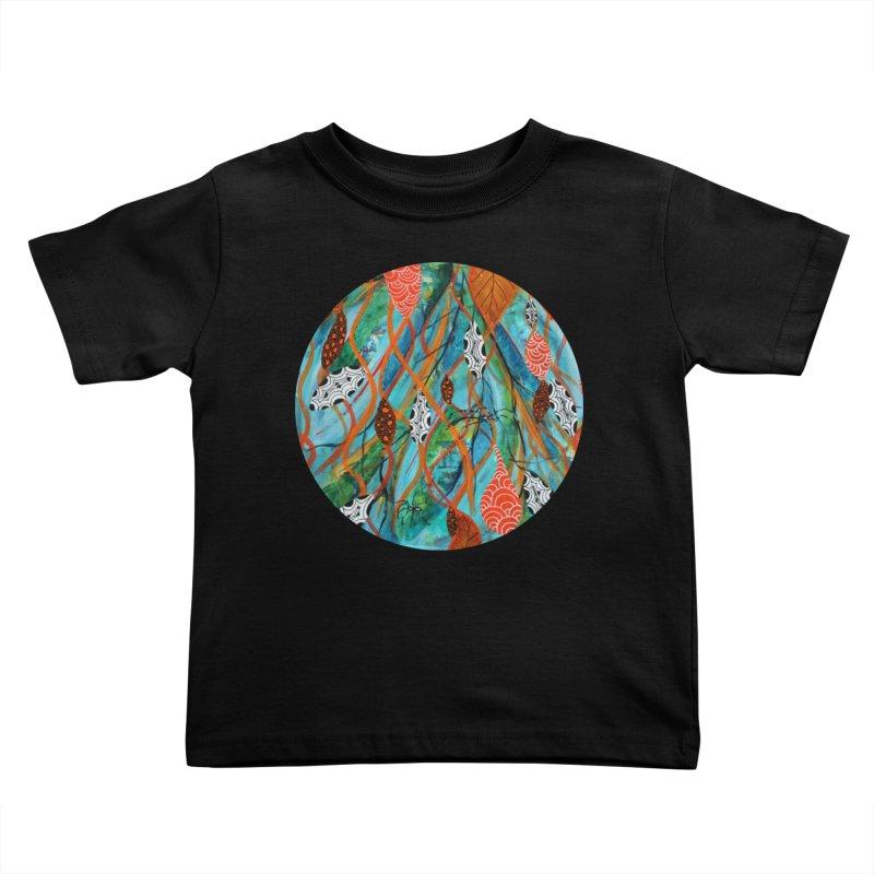 Spinner Kids Toddler T-Shirt by C. Cooley's Artist Shop