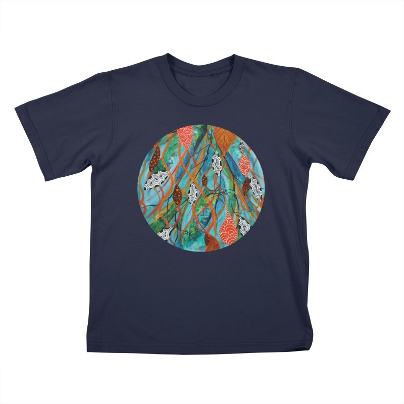Spinner Kids T-Shirt by C. Cooley's Artist Shop