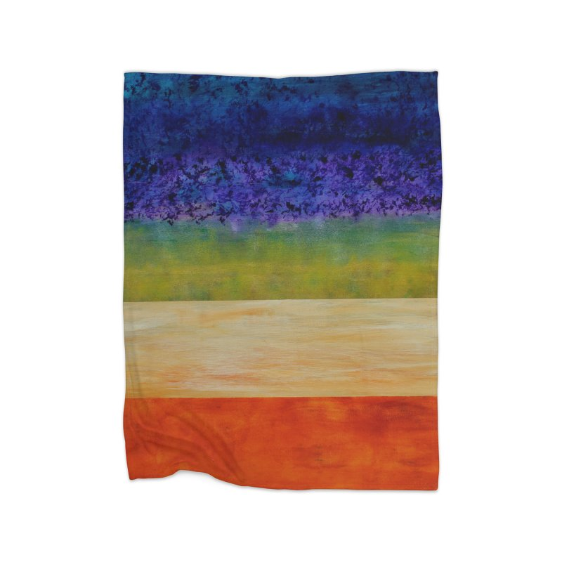Expanse Home Blanket by C. Cooley's Artist Shop