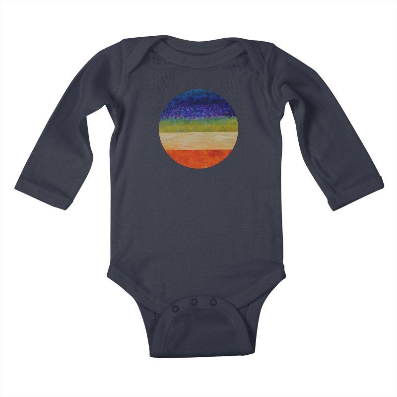 Expanse Kids Baby Longsleeve Bodysuit by C. Cooley's Artist Shop