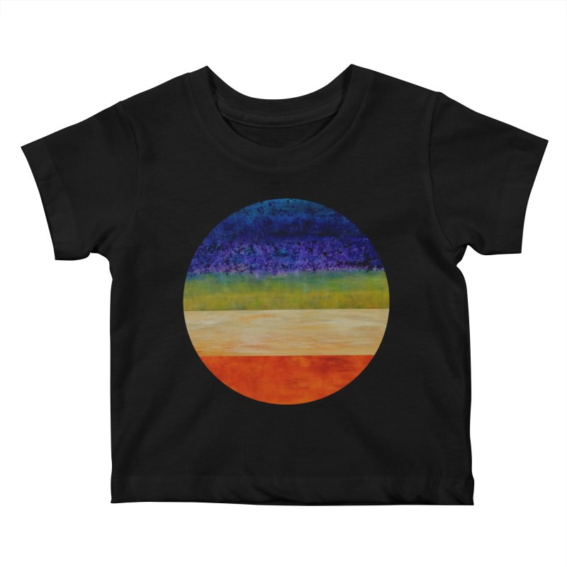 Expanse Kids Baby T-Shirt by C. Cooley's Artist Shop