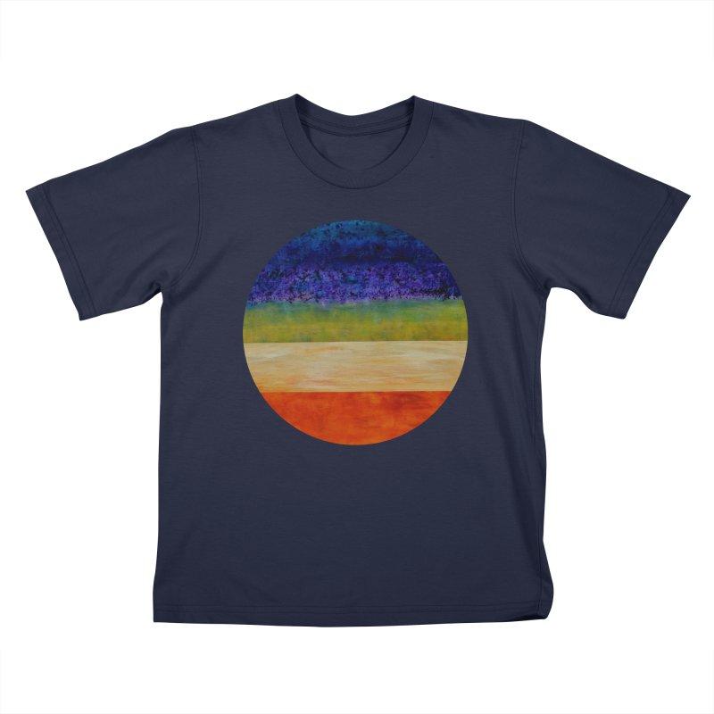 Expanse Kids T-Shirt by C. Cooley's Artist Shop