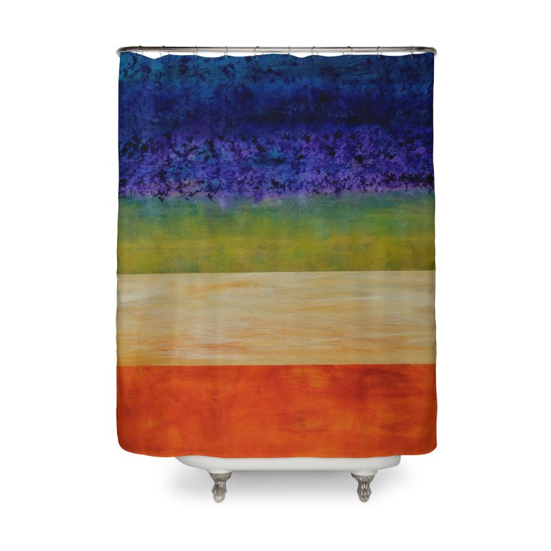 Expanse Home Shower Curtain by C. Cooley's Artist Shop