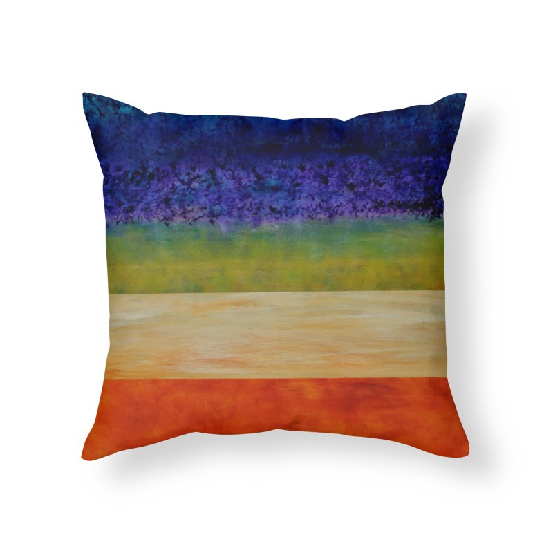 Expanse Home Throw Pillow by C. Cooley's Artist Shop