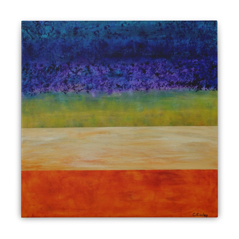 Expanse Home Stretched Canvas by C. Cooley's Artist Shop