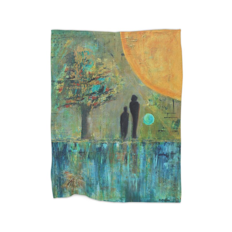Beyond Home Blanket by C. Cooley's Artist Shop