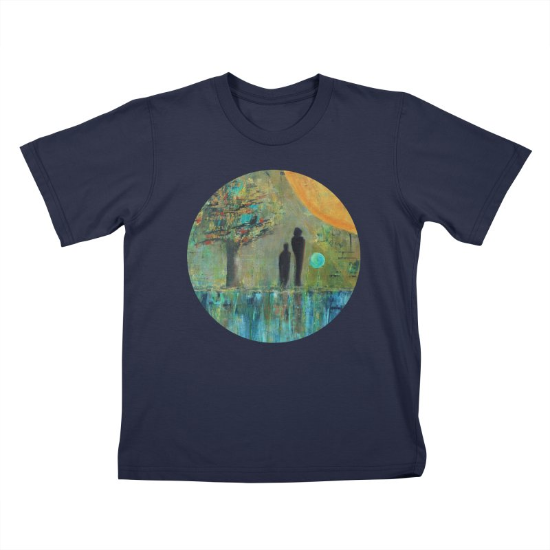 Beyond Kids T-Shirt by C. Cooley's Artist Shop