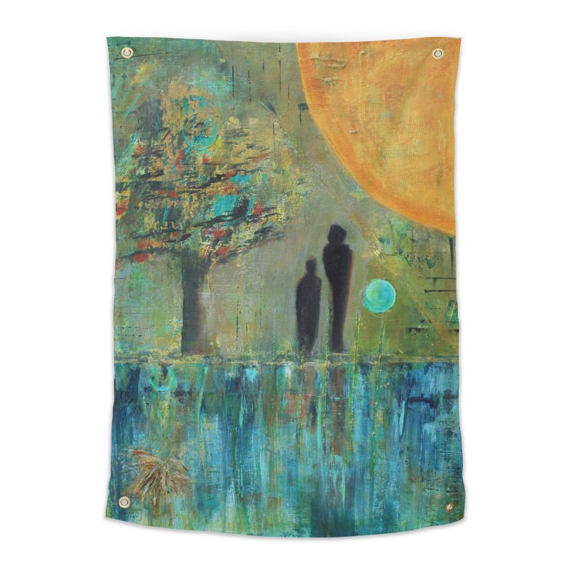 Beyond Home Tapestry by C. Cooley's Artist Shop
