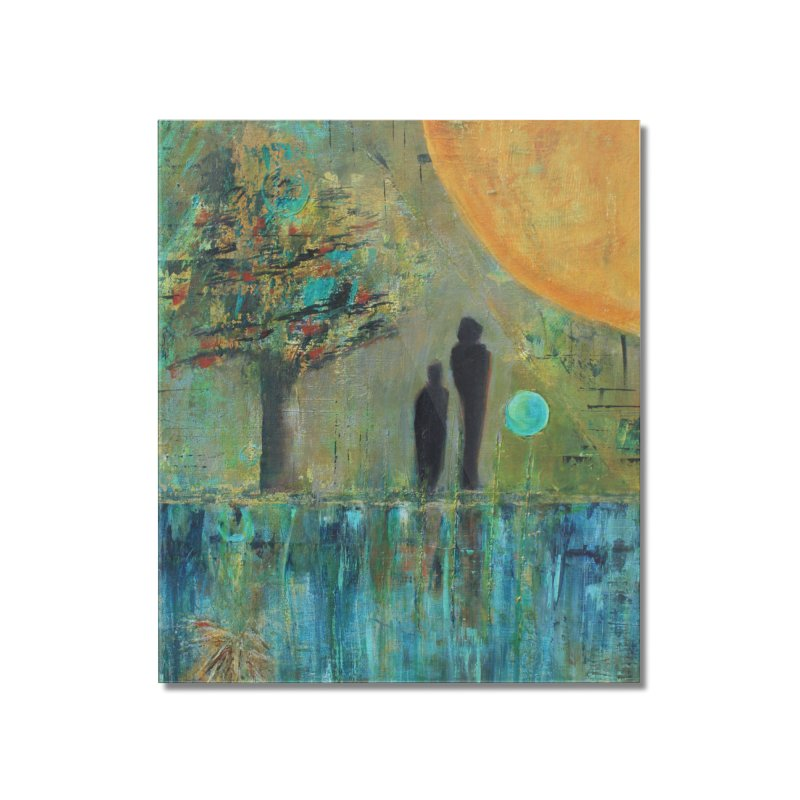 Beyond Home Mounted Acrylic Print by C. Cooley's Artist Shop