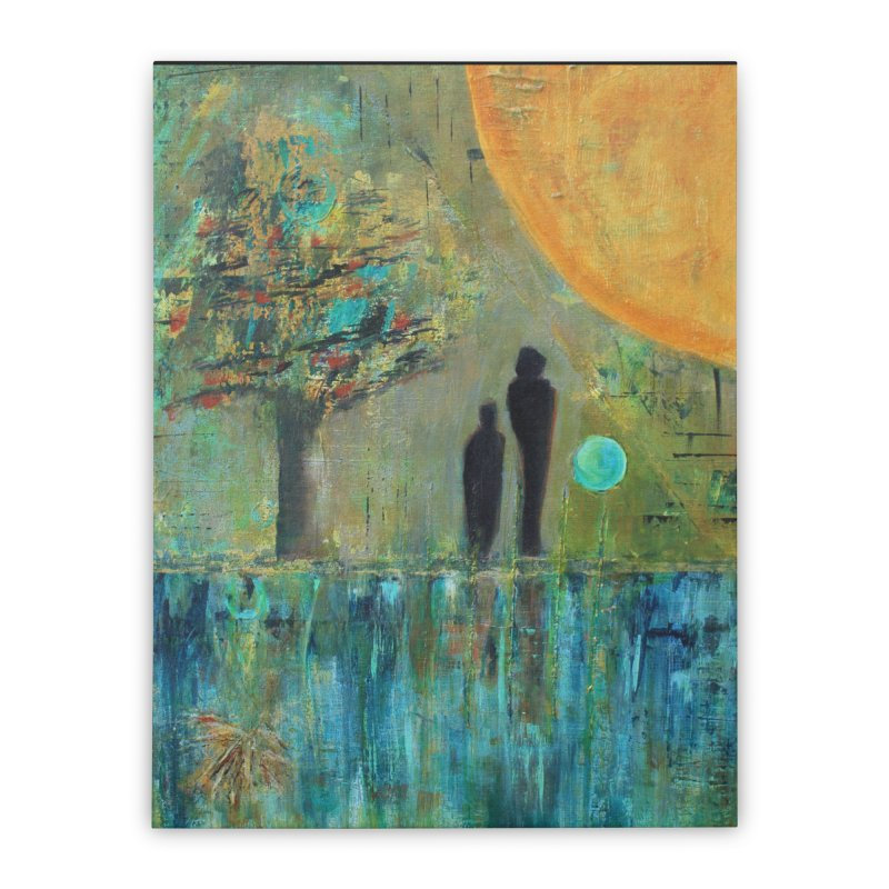 Beyond Home Stretched Canvas by C. Cooley's Artist Shop