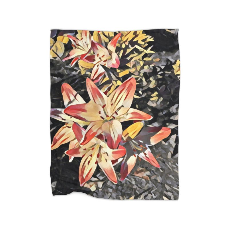 Gothic Lily Home Blanket by C. Cooley's Artist Shop