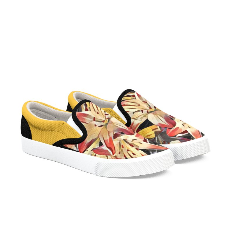 Gothic Lily Men's Shoes by C. Cooley's Artist Shop