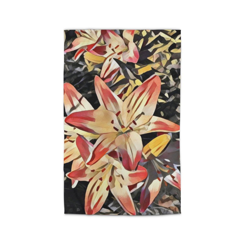 Gothic Lily Home Rug by C. Cooley's Artist Shop