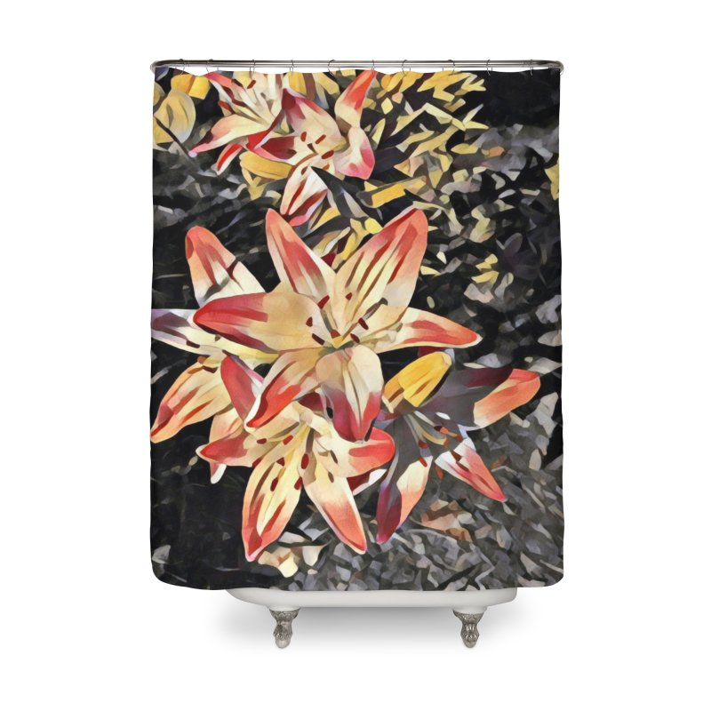 Gothic Lily Home Shower Curtain by C. Cooley's Artist Shop