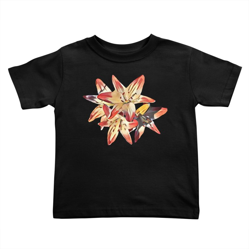 Gothic Lily Kids Toddler T-Shirt by C. Cooley's Artist Shop
