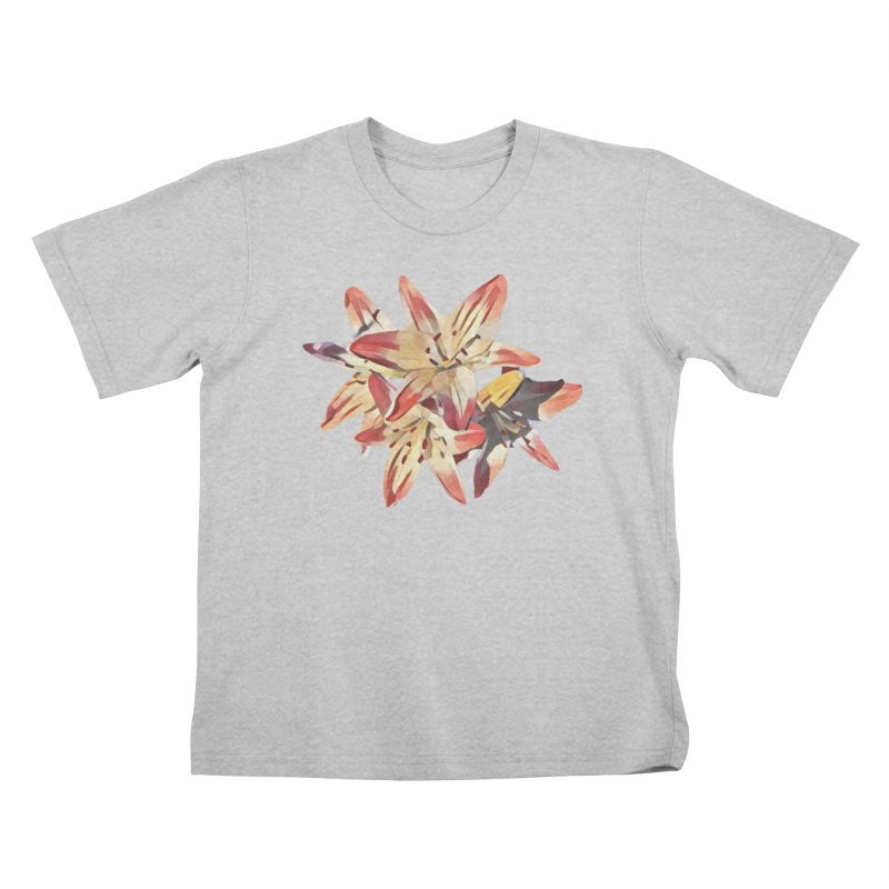 Gothic Lily Kids T-Shirt by C. Cooley's Artist Shop