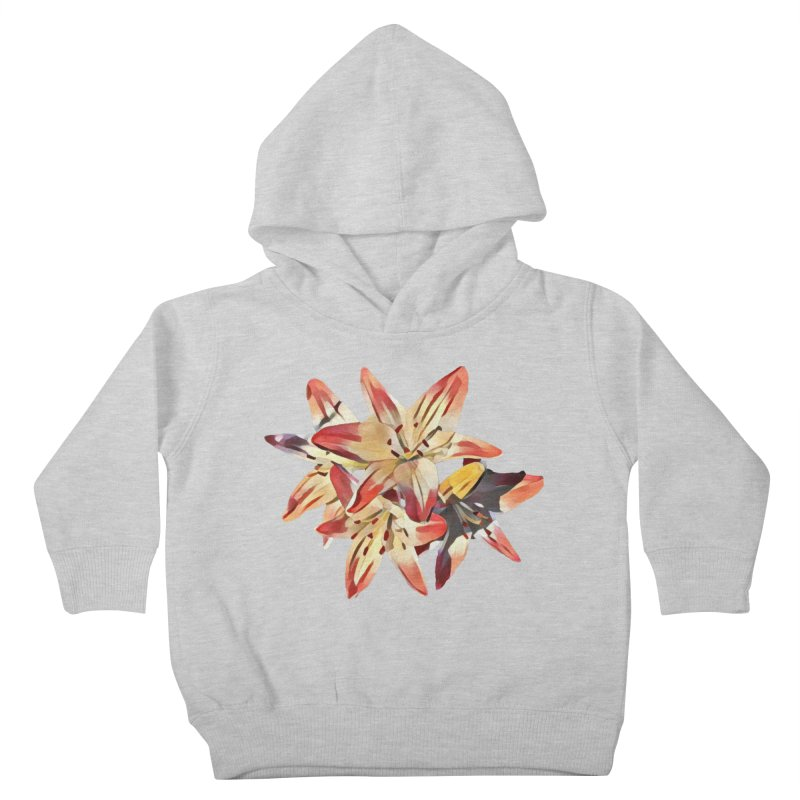 Gothic Lily Kids Toddler Pullover Hoody by C. Cooley's Artist Shop