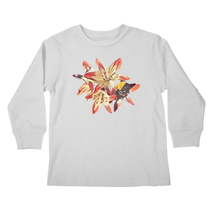 Gothic Lily Kids Longsleeve T-Shirt by C. Cooley's Artist Shop