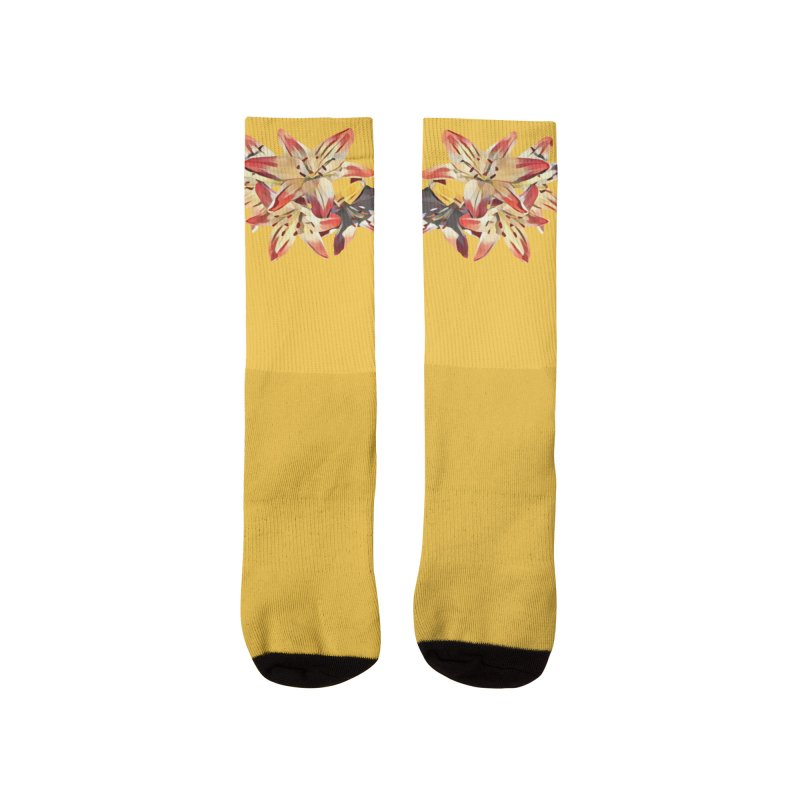 Gothic Lily Women's Socks by C. Cooley's Artist Shop