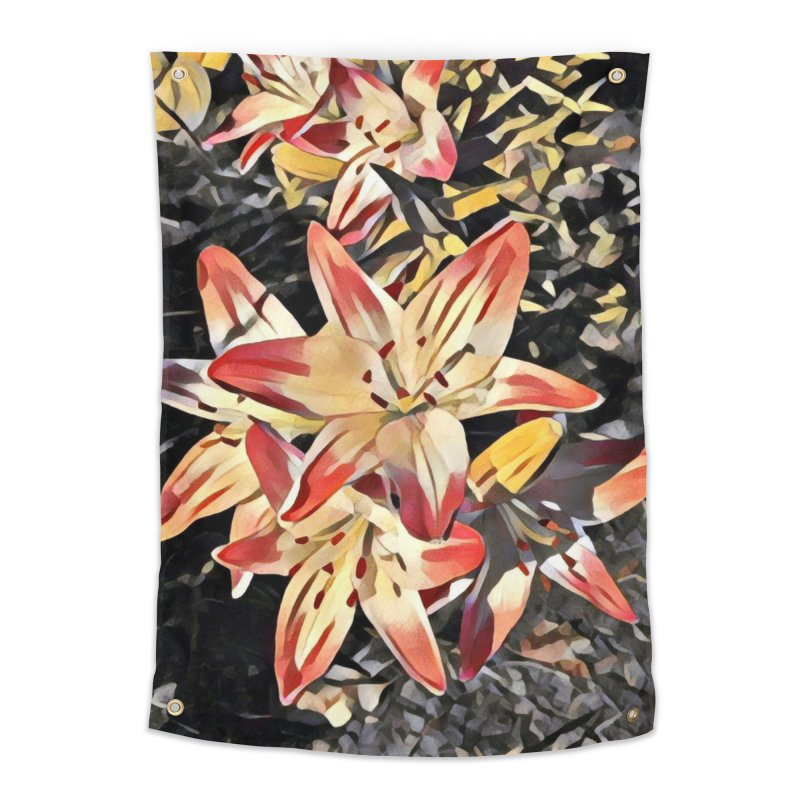Gothic Lily Home Tapestry by C. Cooley's Artist Shop