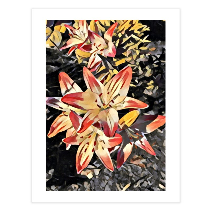 Gothic Lily Home Fine Art Print by C. Cooley's Artist Shop