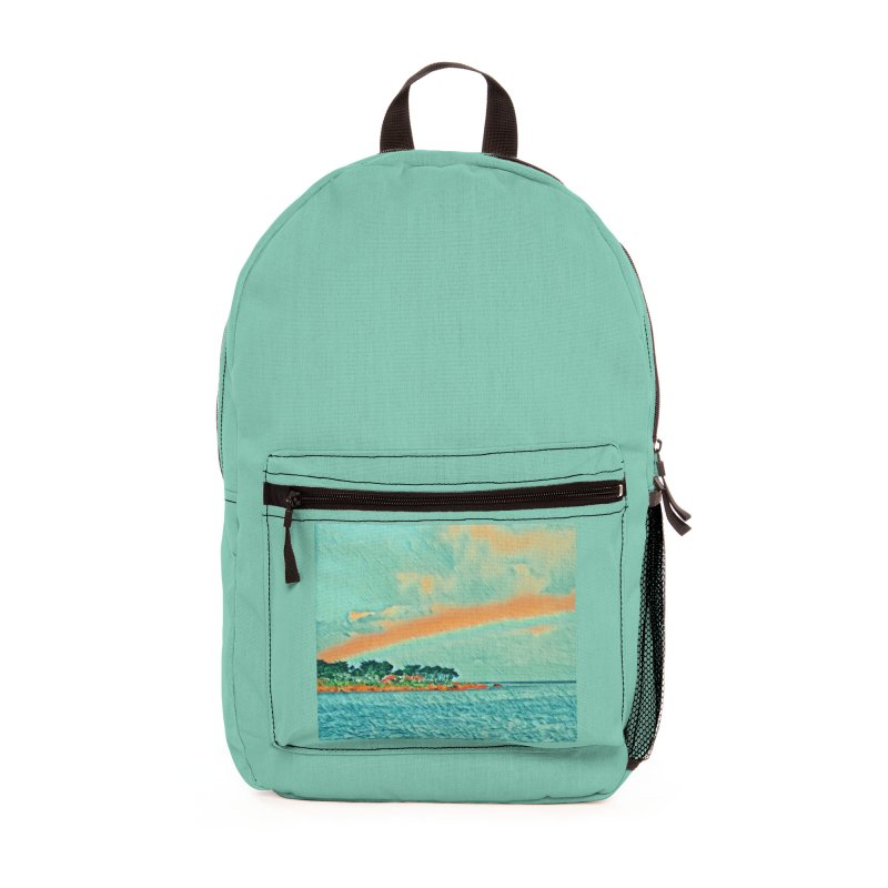 Pacific Accessories Bag by C. Cooley's Artist Shop