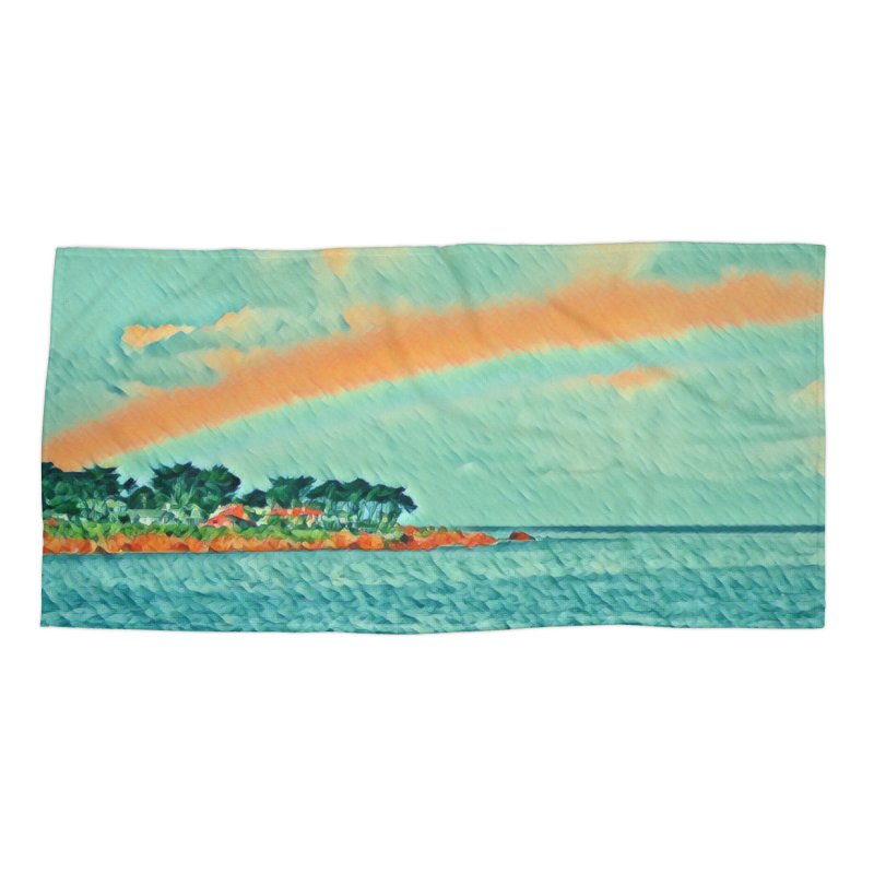 Pacific Accessories Beach Towel by C. Cooley's Artist Shop