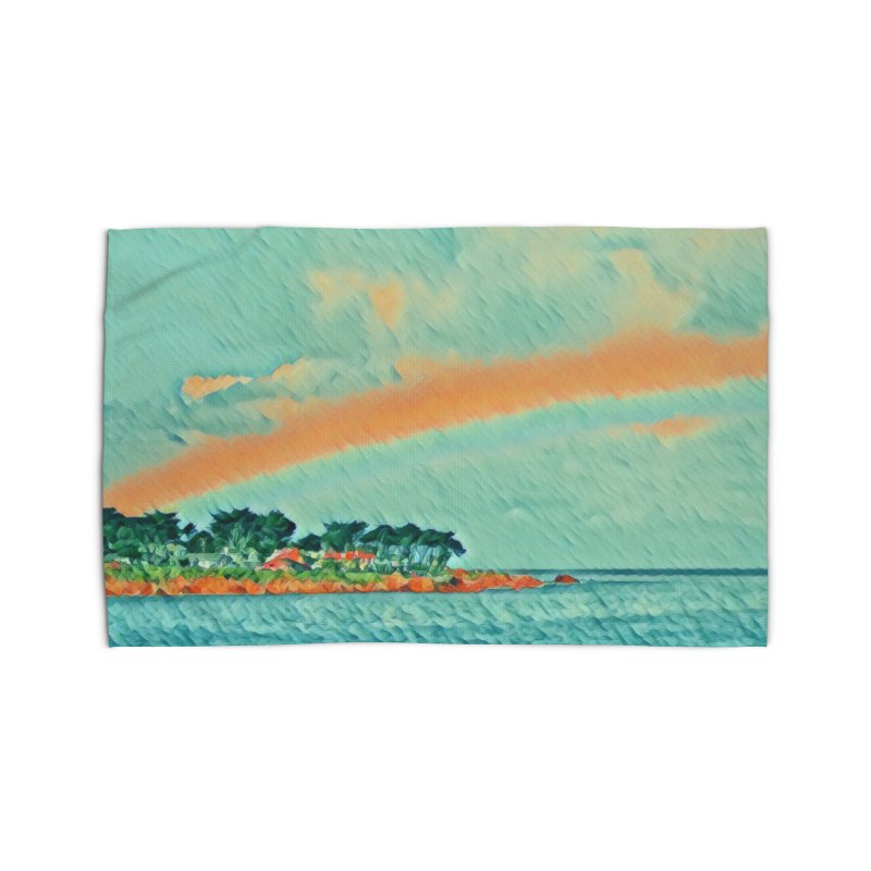 Pacific Home Rug by C. Cooley's Artist Shop