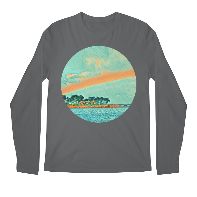 Pacific Men's Longsleeve T-Shirt by C. Cooley's Artist Shop