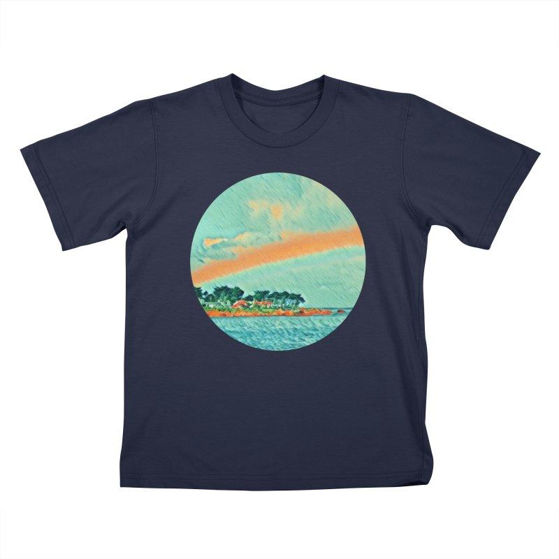 Pacific Kids T-Shirt by C. Cooley's Artist Shop