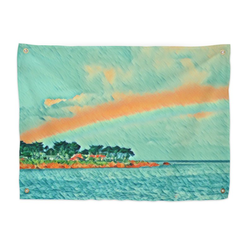 Pacific Home Tapestry by C. Cooley's Artist Shop