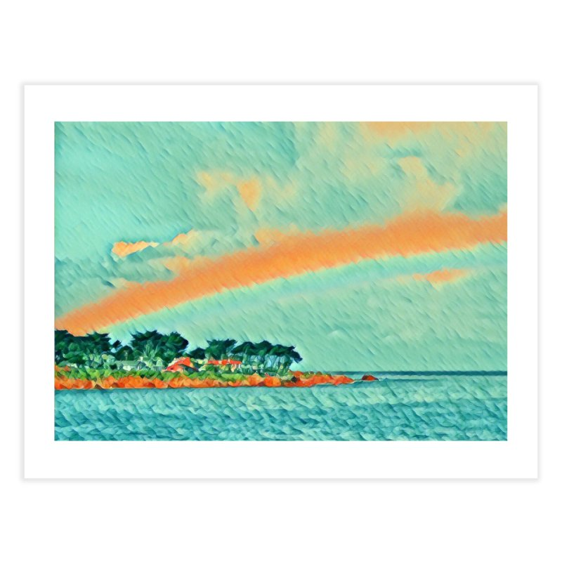 Pacific Home Fine Art Print by C. Cooley's Artist Shop