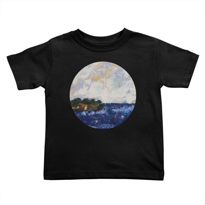 Dauntless Kids Toddler T-Shirt by C. Cooley's Artist Shop