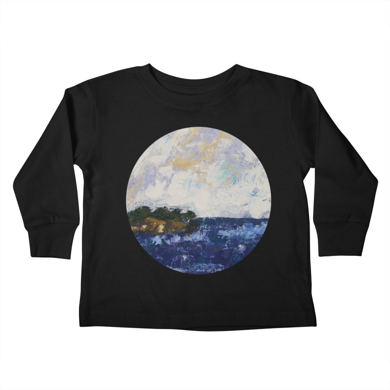 Dauntless Kids Toddler Longsleeve T-Shirt by C. Cooley's Artist Shop