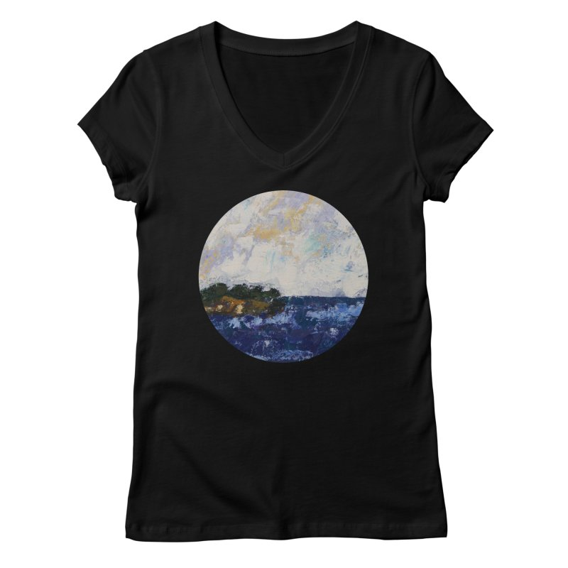 Dauntless Women's V-Neck by C. Cooley's Artist Shop
