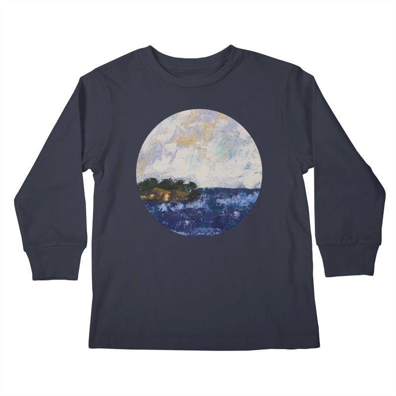 Dauntless Kids Longsleeve T-Shirt by C. Cooley's Artist Shop