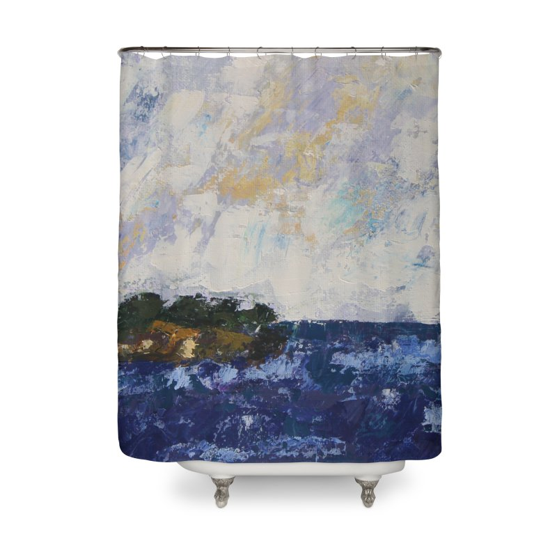 Dauntless Home Shower Curtain by C. Cooley's Artist Shop