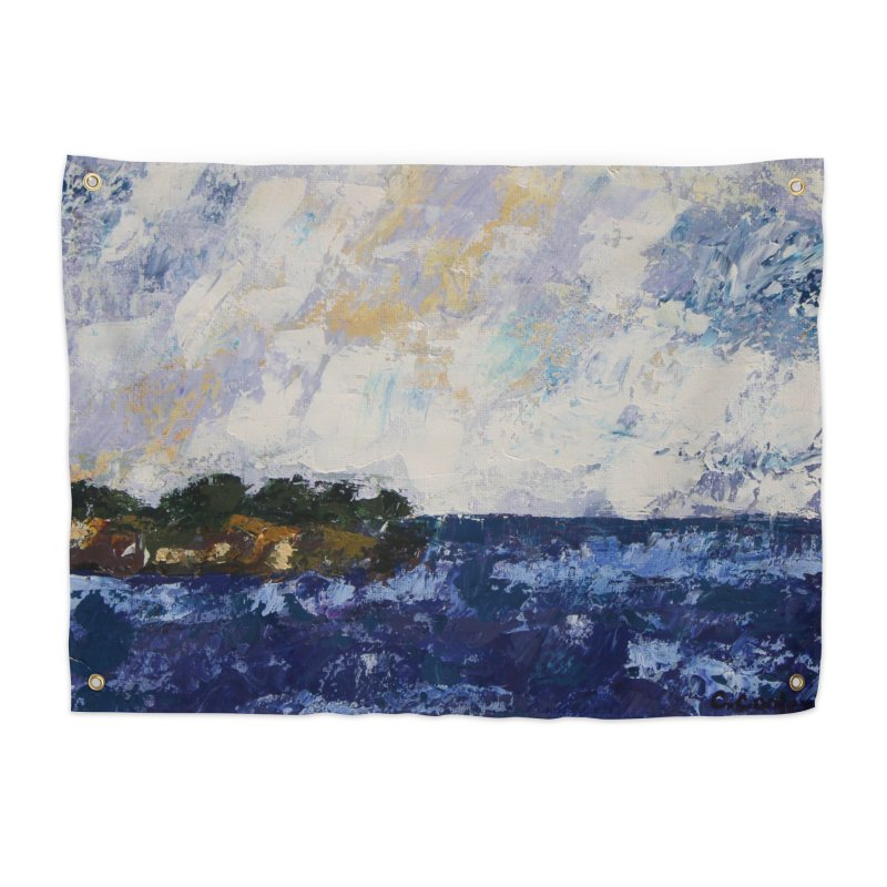 Dauntless Home Tapestry by C. Cooley's Artist Shop